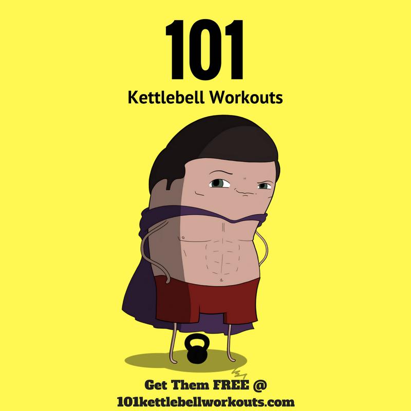 101 kettlebell workouts pat flynn