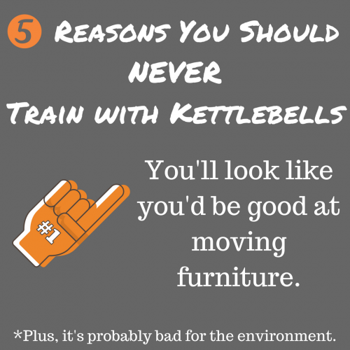 5 Reasons You Should NEVER Train with Kettlebells