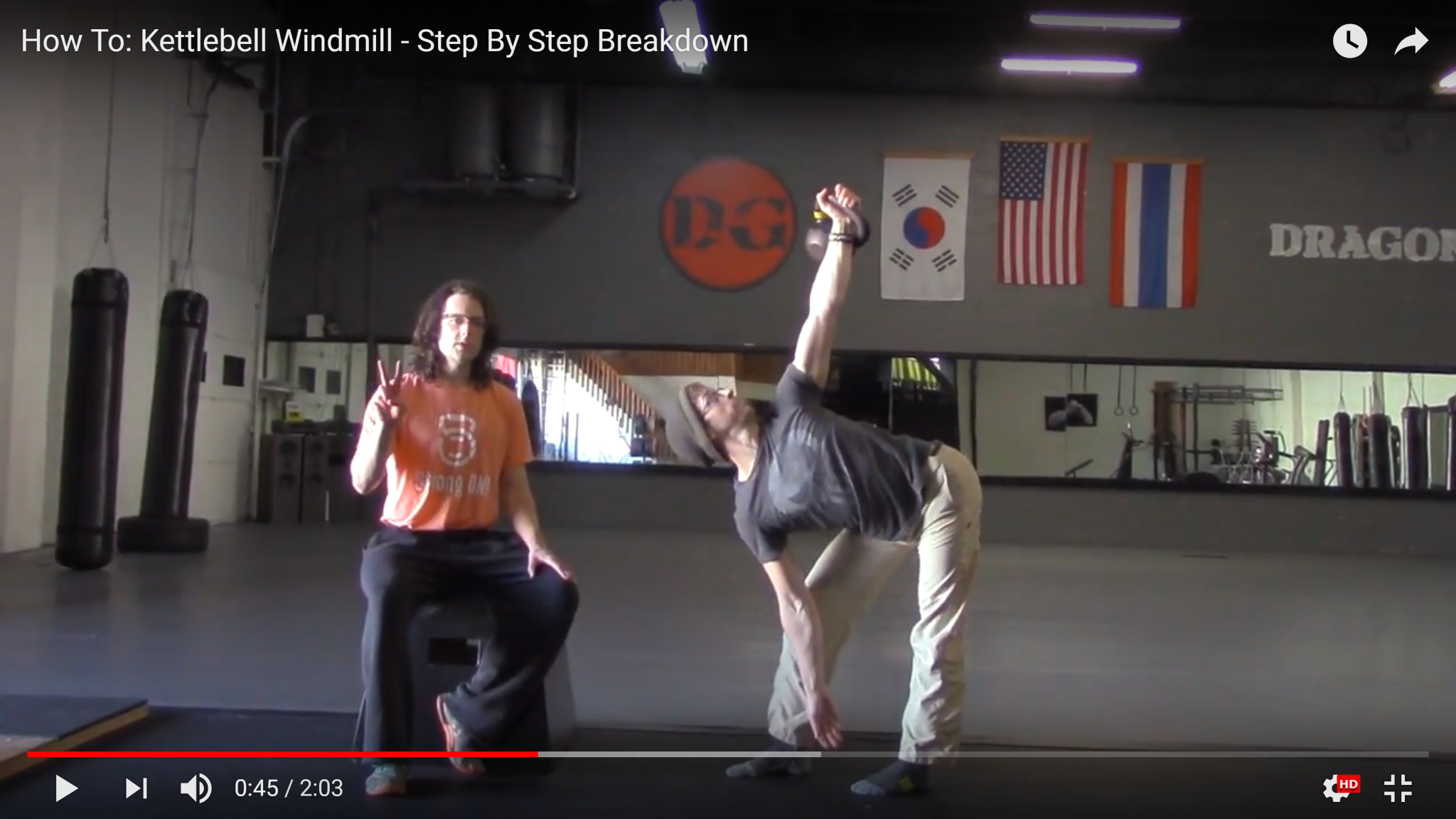 how to kettlebell windmill - step by step breakdown