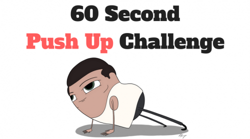 60 Second Push Up Challenge - I Bet You Can't Do This